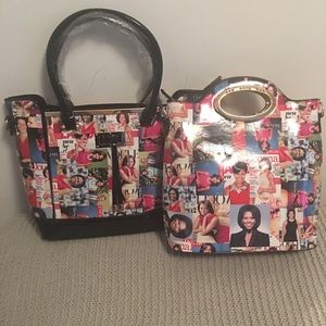 Handbags - Set of two Michelle obama purse 👛 just lovely 👛